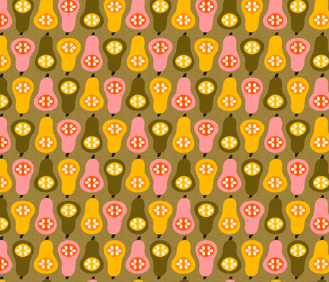 Lots o' Squash! fabric by nadiahassan on Spoonflower - custom fabric
