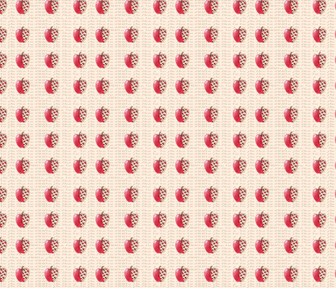 Pie, I Love (Apple) fabric by jiko29 on Spoonflower - custom fabric
