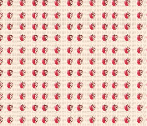 Pie, I Love (Apple) fabric by jiko29 on Spoonflower - custom fabric