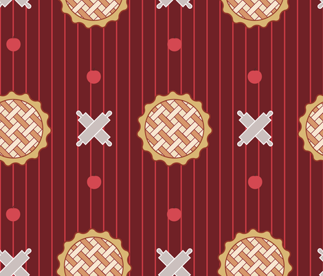 anomis_pie_300dpi fabric by ssimonaa on Spoonflower - custom fabric
