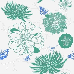 Garden Party Emerald
