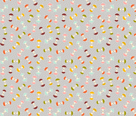 How About Them Apples! fabric by nadiahassan on Spoonflower - custom fabric