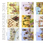 Birdhouses 2014 calendar