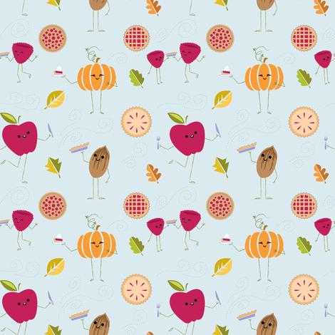 Pie! Yummy Yum! fabric by spicysteweddemon on Spoonflower - custom fabric