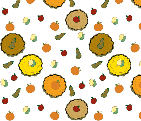 PIES_TO_PLEASE fabric by marygrace on Spoonflower - custom fabric