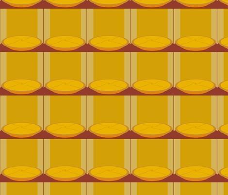PieOnAShelf fabric by grannynan on Spoonflower - custom fabric