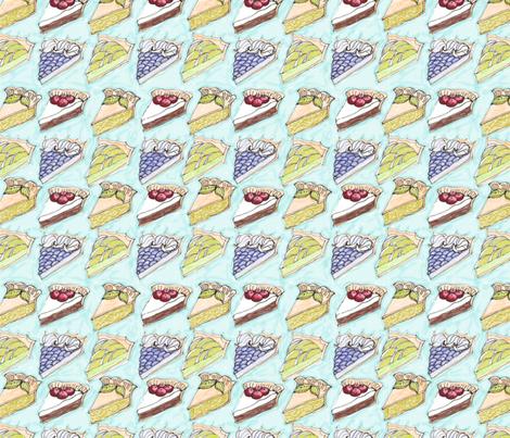 Angel Pie fabric by me_amelia on Spoonflower - custom fabric