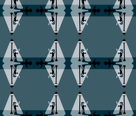 filmnoir fabric by twistedblossom on Spoonflower - custom fabric