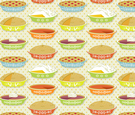 pleasant pies  fabric by cjldesigns on Spoonflower - custom fabric