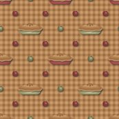 Rgreen_and_red_pies_and_apples_on_tan_gingham.ai_shop_thumb