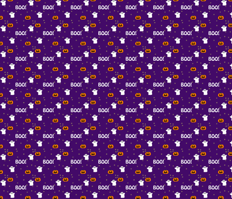 Ghost Contest Pattern fabric by michellefilanc on Spoonflower - custom fabric