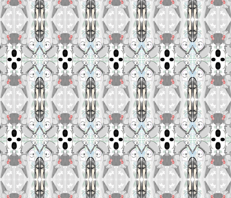 Lim_ghostpattern fabric by ivie_lim on Spoonflower - custom fabric