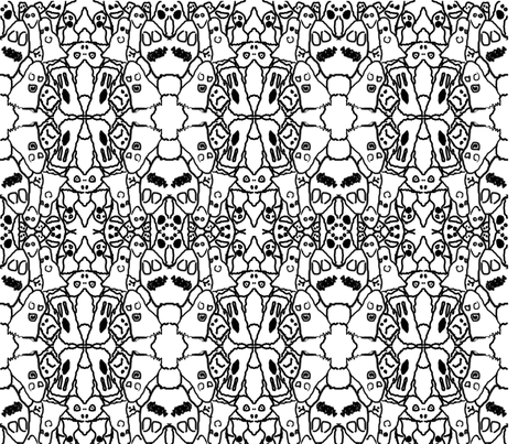 Maloney_Ghost_Contetst_Pattern fabric by torch on Spoonflower - custom fabric
