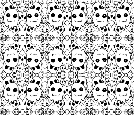 Josey_Ghost_Contest_Pattern fabric by mr__rivers on Spoonflower - custom fabric