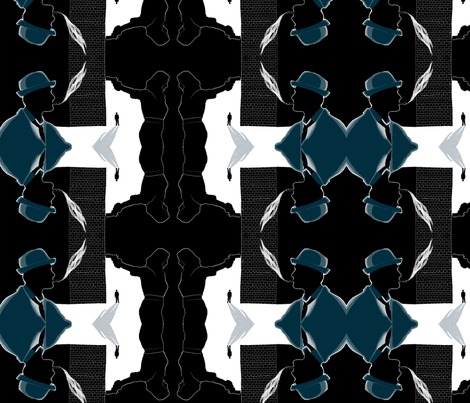 Lawler_Film_Noir fabric by slawler on Spoonflower - custom fabric