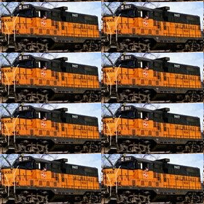Milwaukee Road engine