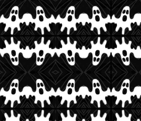Kaplan_ghost_contest_pattern fabric by emmakaplan on Spoonflower - custom fabric