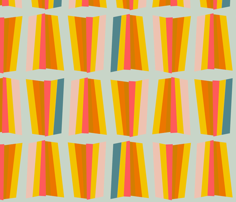 ray (citrus) fabric by anna_lisa_brown on Spoonflower - custom fabric