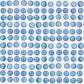 bingo dots in pale blue