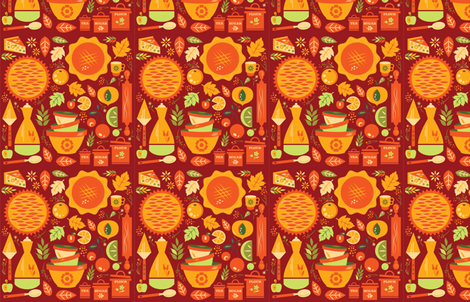 J_SANDERS fabric by reddozer on Spoonflower - custom fabric