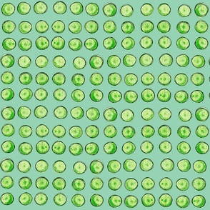 bingo dots in green