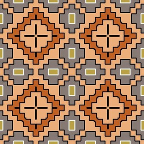 Adobe Dreams desert geometric