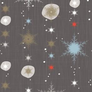 Spruce Snowflakes