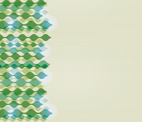 dress border wavy line pattern