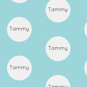 Gum Drops Lg-Sky Wht-Personalized