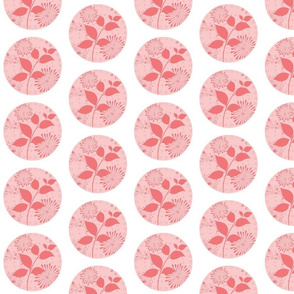 Island Quilt Small Pinwheel Strawberry Shake-ed