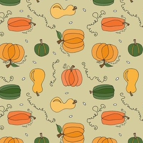 Pumpkins and Squash (Autumn)