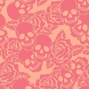 Strawberry Skulls Large