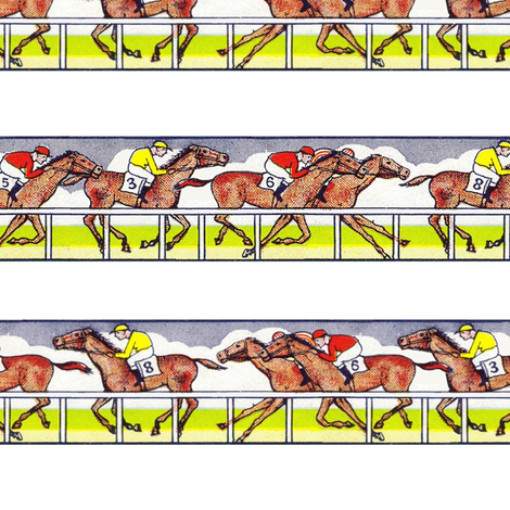 Racing Strips fabric by ragan on Spoonflower - custom fabric