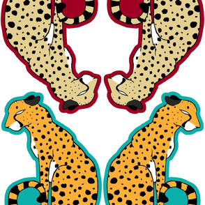 Cheetah Pillows