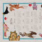 Naive Woodland 2014 Calendar