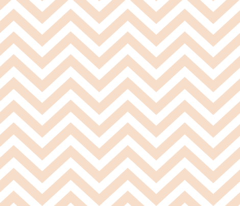 Blush Chevron fabric by mrshervi on Spoonflower - custom fabric