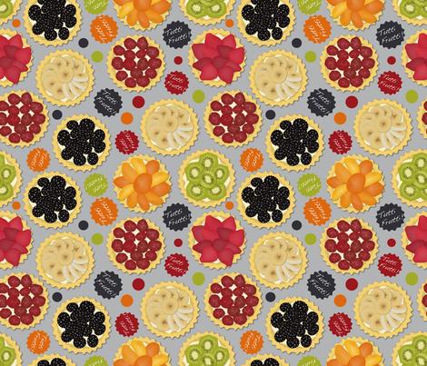 Tutti Frutti (Scattered) fabric by vannina on Spoonflower - custom fabric