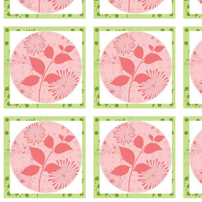 Island Quilt Pinwheels Layers Kiwi Strawberry shake