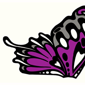 Large purple wings