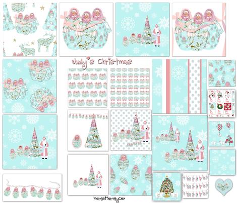 Judy's Christmas Sampler