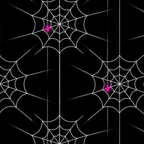 Spooky Cute Pink Spiders!