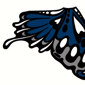dark blue wing panel/applique