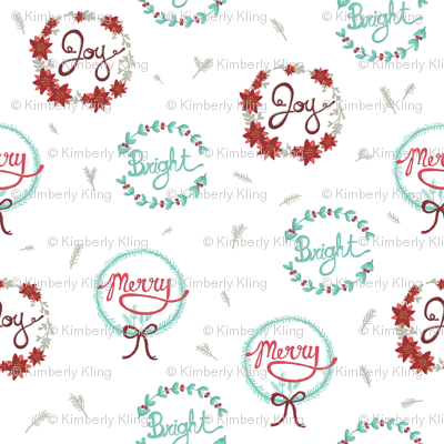 Happy Holiday Wreaths