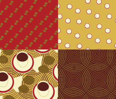 TinTanCollection fabric by melhales on Spoonflower - custom fabric