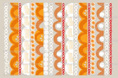 2016 citrus slice tea towel calendar-27 inc
