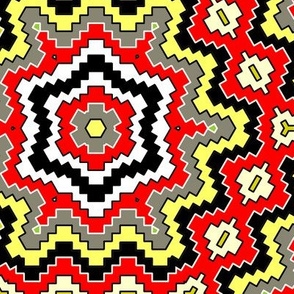desert geometric coral snake