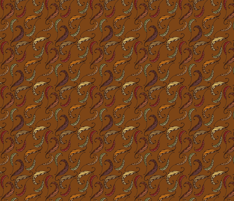 Autumn Leaves  fabric by juliematthews on Spoonflower - custom fabric