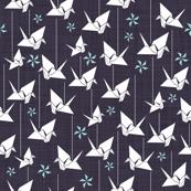 more paper cranes