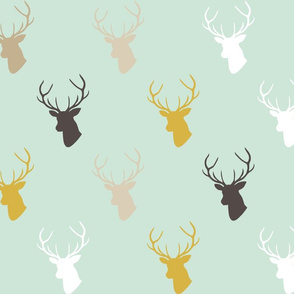 Deer In Mint