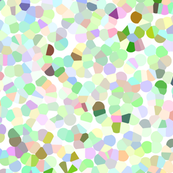 Confetti Mermaid Seaweed Green